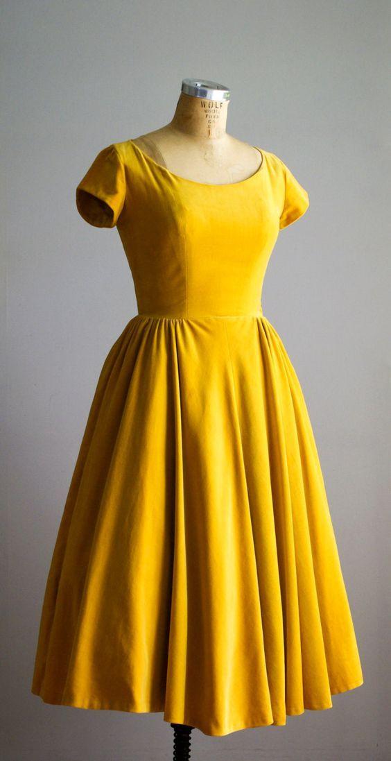 Photo of Kurzarm-Ballkleid, gelbes Ballkleid, modisches Heimkehrkleid, sexy Partykleid, Abendkleid im neuen Stil