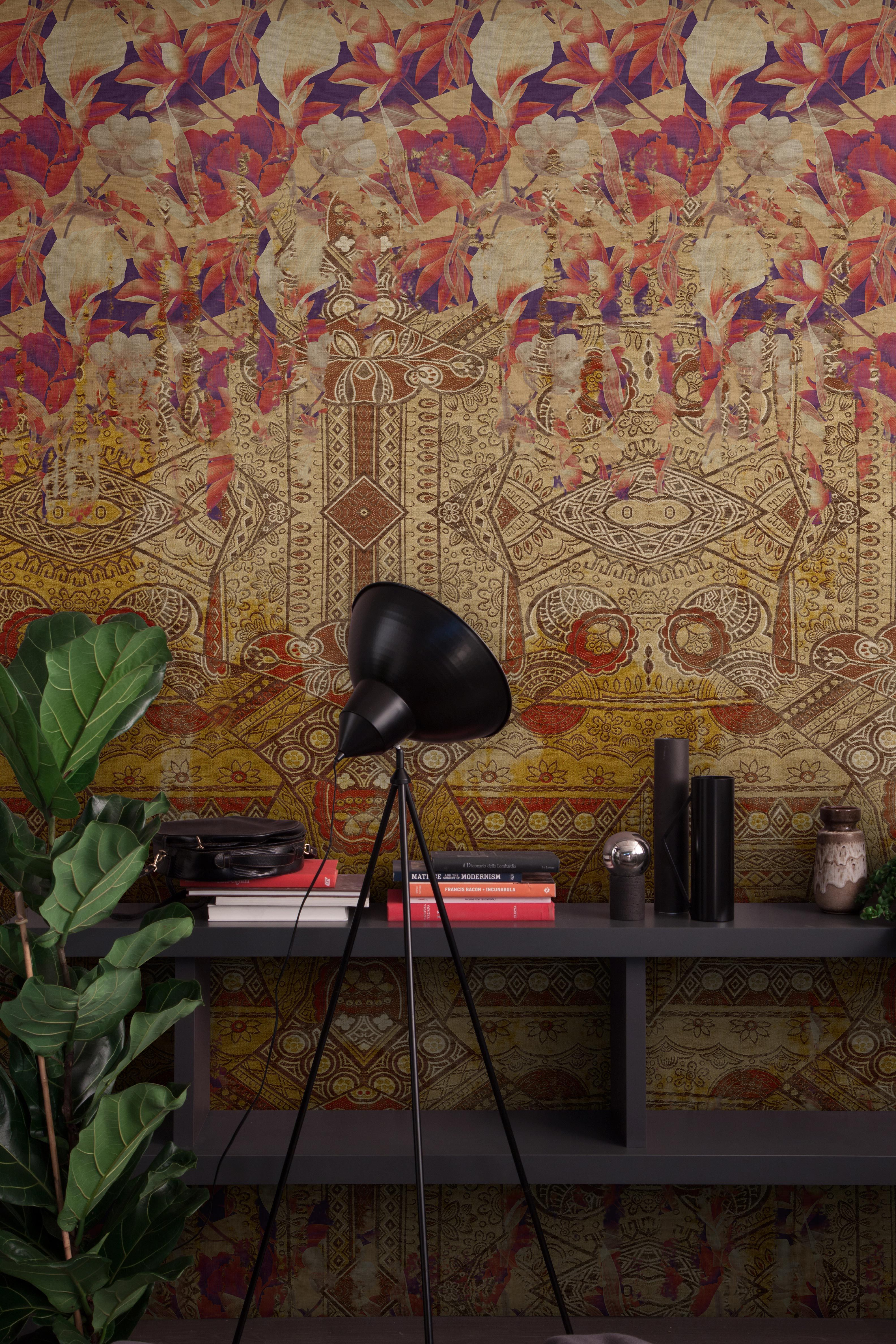 undressing surfaces: the first contract wallpaper collection by, Mobel ideea