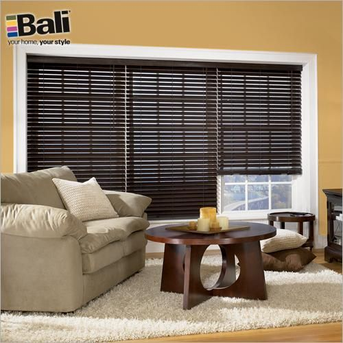 Bali 2 1 Northern Heights Shutter Style Wood Blinds In Coffee These Wide Slats Give You The High End Look Of Shutters With Versatility A Blind
