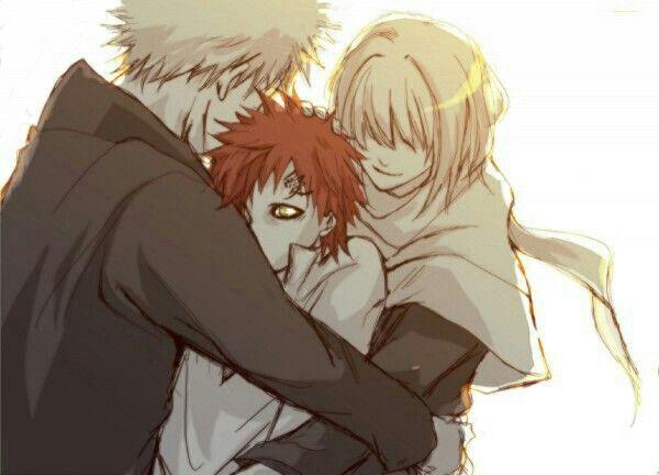 Gaara, mother, father, love, Rasa, Karura; Naruto