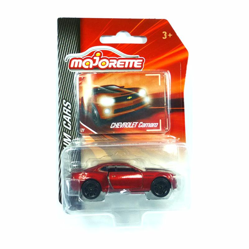 Majorette 212053052 Chevrolet Camaro Coupé purpurrotmetallic 279A-1 PREMIUM CARS