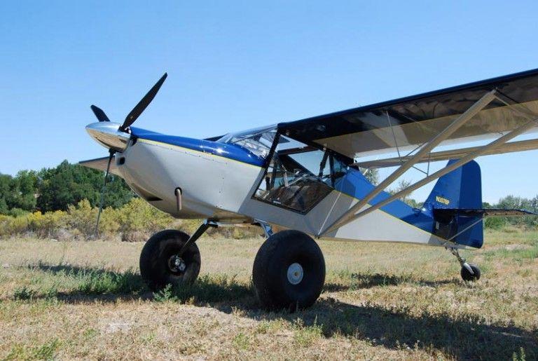 Kitfox airplane on a grass airstrip | STOL Aircraft | Stol aircraft