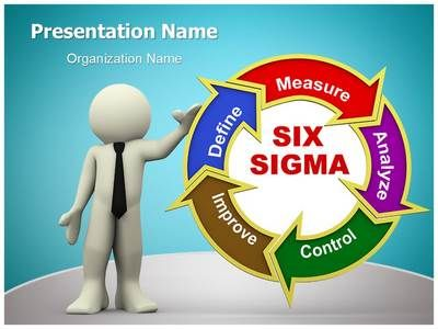 D Six Sigma Powerpoint Template Is One Of The Best Powerpoint