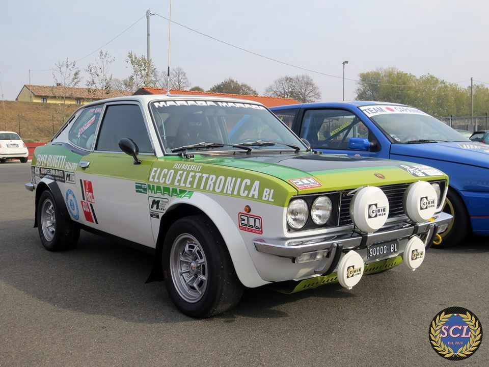 Fiat 128 Sport Coupe Rally With Images Fiat 128 Fiat Fiat Abarth