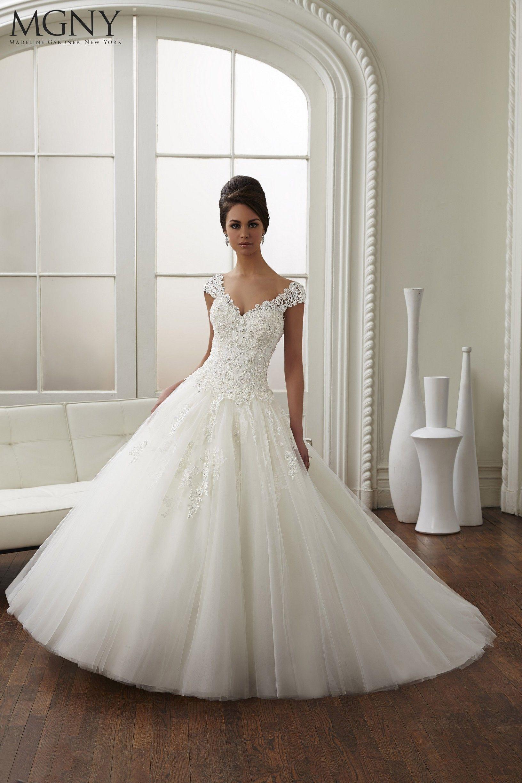 New White Ivory Lace Bridal Gown Wedding Dress Custom Size