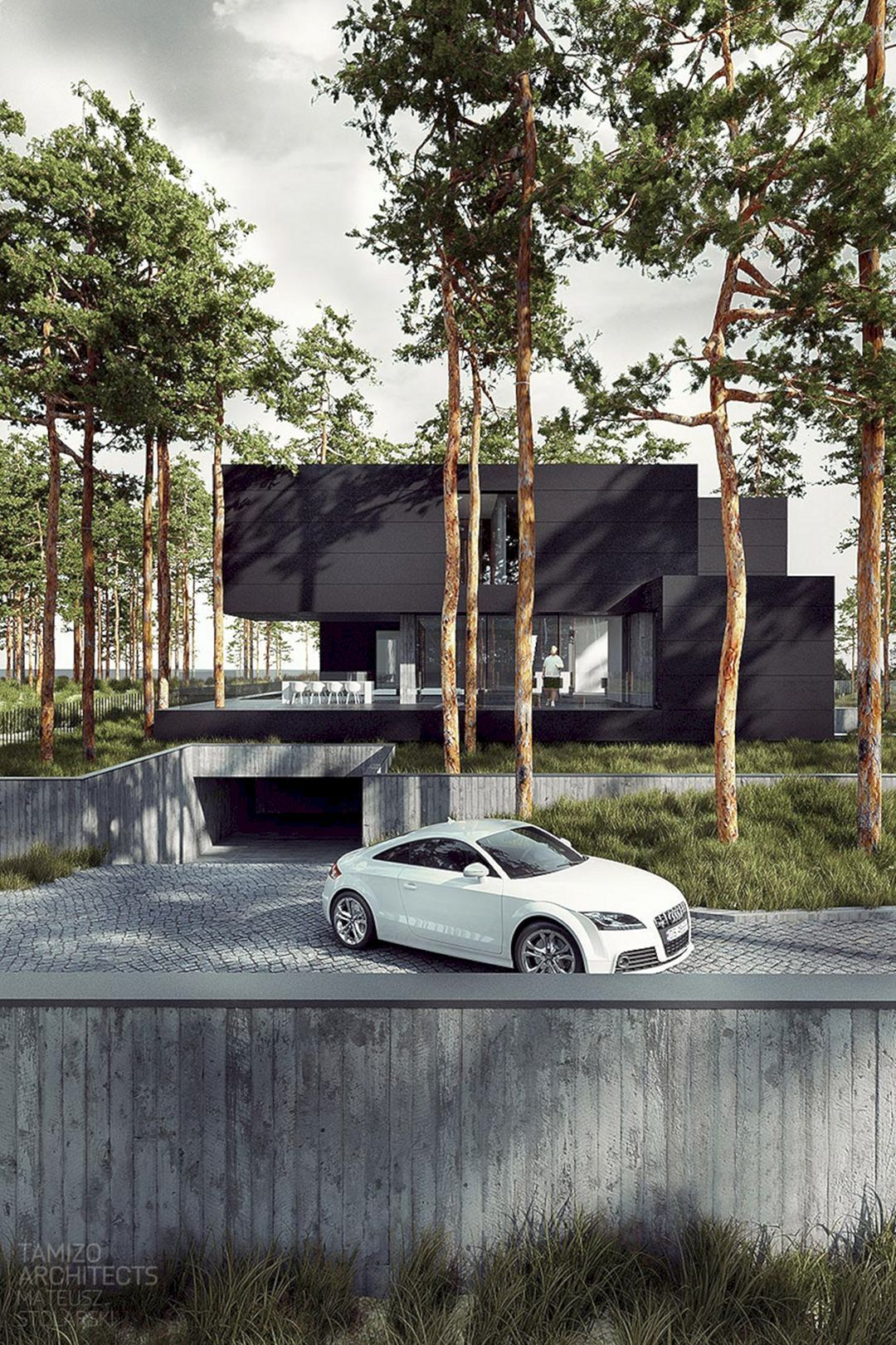 45 Incredible Underground Parking Garage Design Inspired By