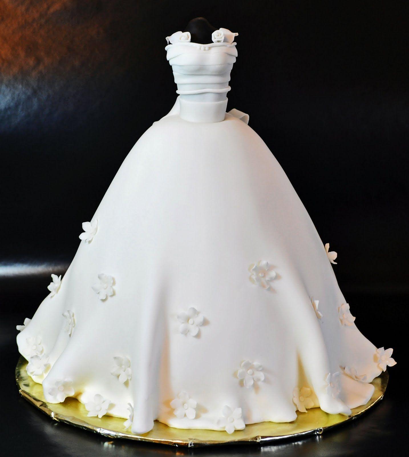 How To Make A Wedding Dresses.Cake Made Like A Wedding Dress How To Make A 3d Wedding