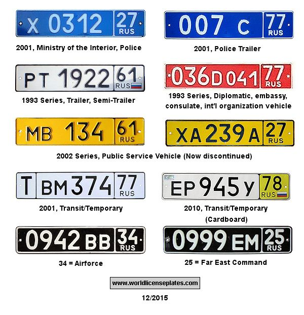 License Plates Of Russia In 2020 Number Plate License Plate Car Plates