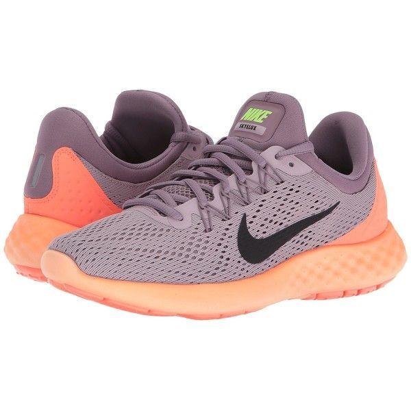 4ae9fd4c89e4 Nike Lunar Skyelux (Plum Fog Purple Shade Bright Mango Black) Women s...  ( 100) ❤ liked on Polyvore featuring shoes