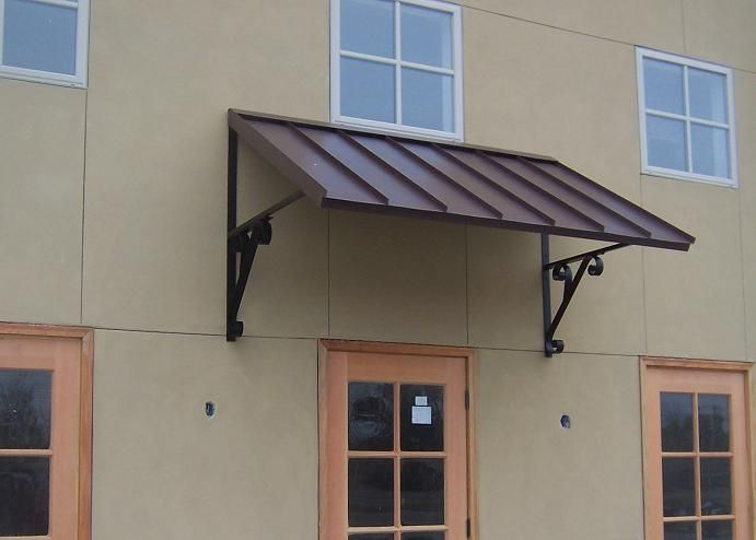 Clic Metal Awning Custom Awnings Copper For Doors Windows Shipped In Usa