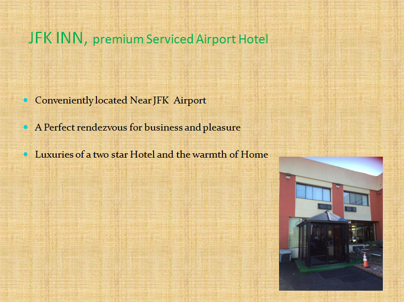 Jfk Inn Is Just Two Miles Away From John F Kennedy Airport And 12