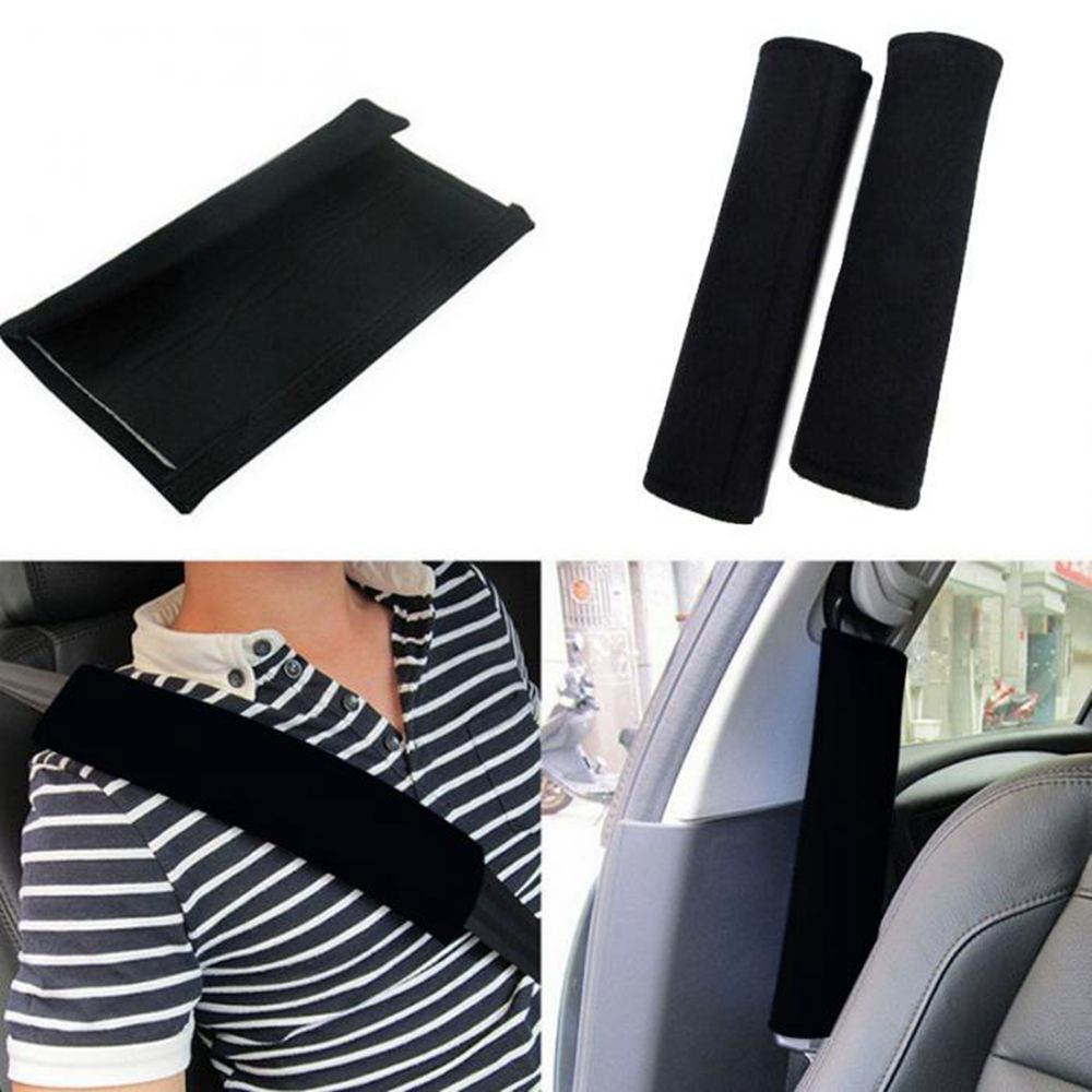 Car Seat Belt Pads Harness Safety Shoulder Strap BackPack Cushion Covers kid SET