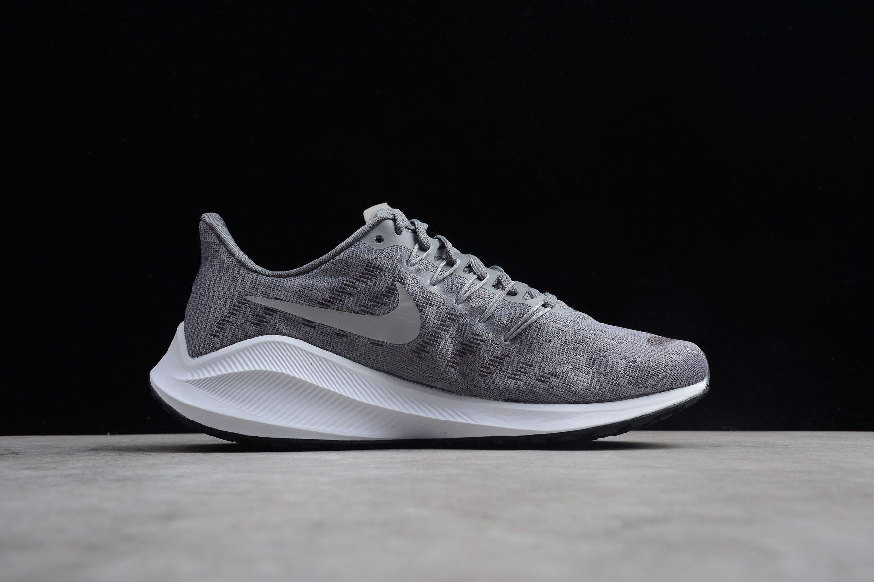 Nike Air Zoom Vomero 14 Grey White Running Shoes AH7858 001