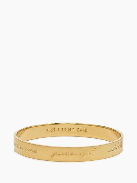 Kate Spade Bridesmaid Idiom Bangle Gold Products Pinterest