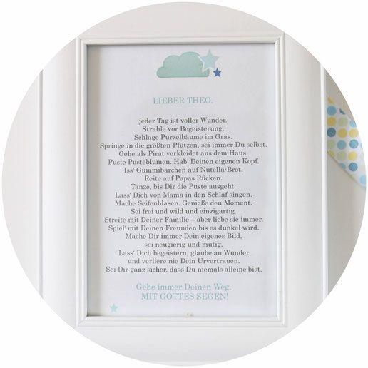 Diy Geschenk Idee Zur Taufe Für Jungen Mädchen Zitate