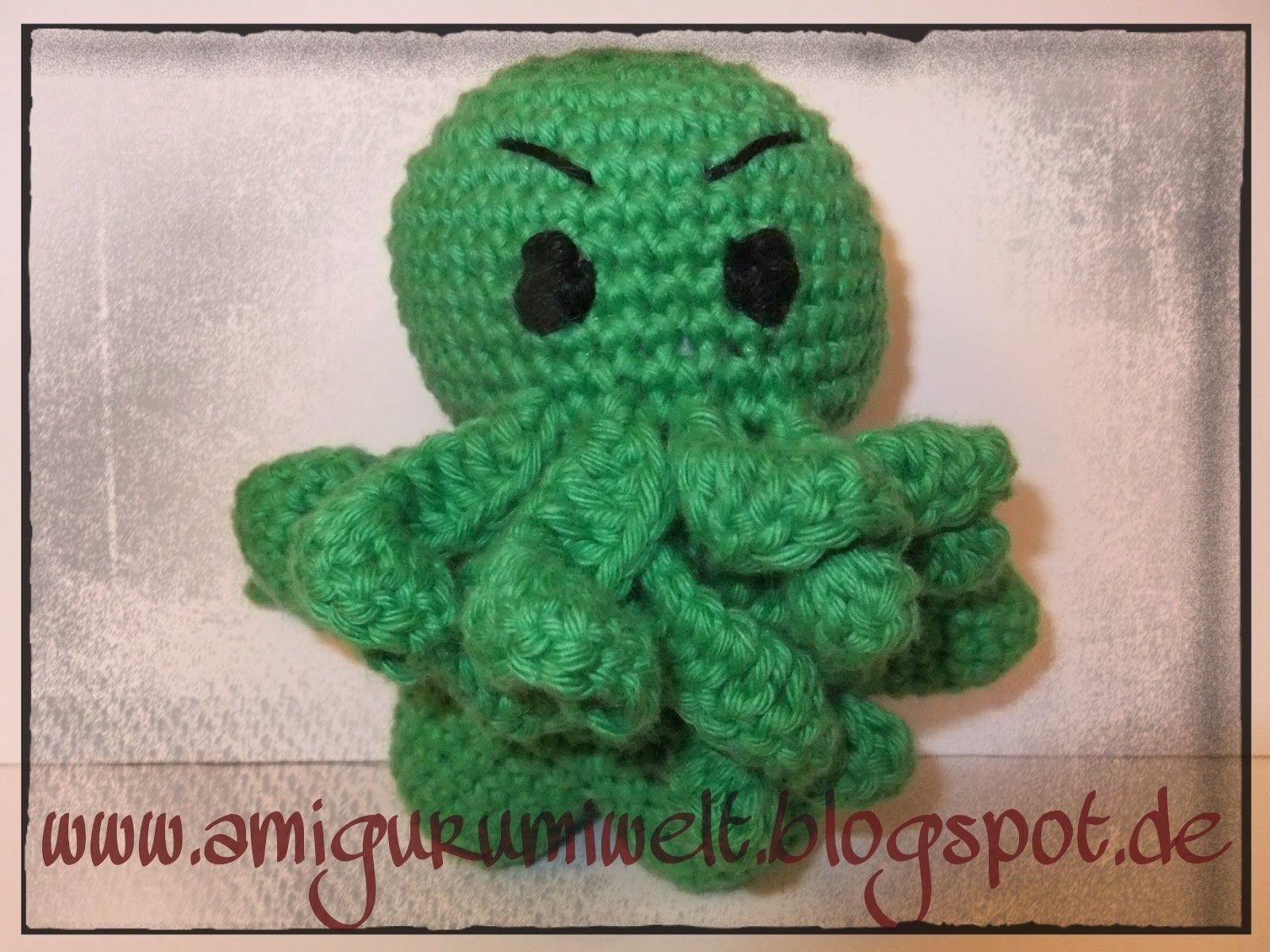 amigurumi kostenlos cthulhu häkeln crochet | Häkeln | Pinterest ...