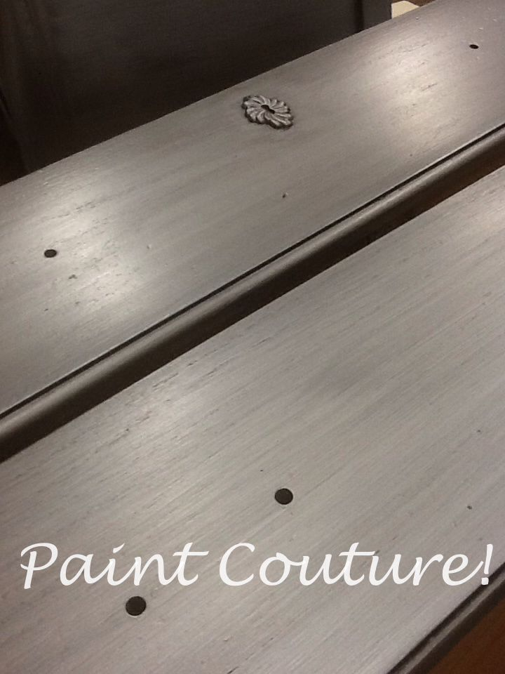 silver star metallic paint and zinc glaze by paint couture i think this would be perfect on an. Black Bedroom Furniture Sets. Home Design Ideas