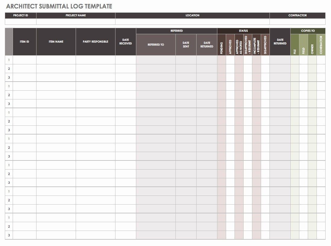Construction Submittal Form Template Luxury How To Manage