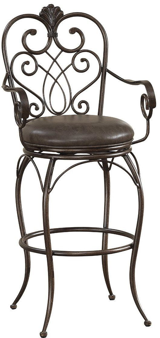 American Heritage Billiards 111179 Concerto Counter Height Stool