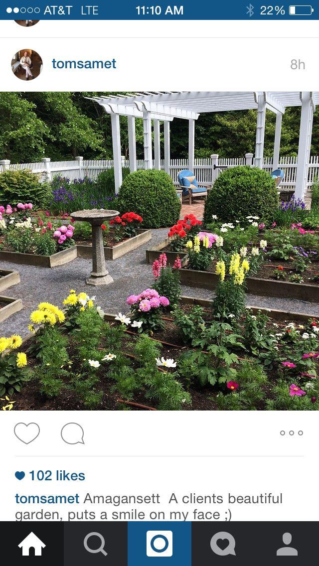 Raised beds Amagansett, Garden