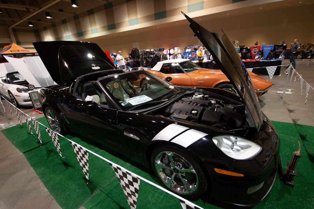 Corvette Chevy Expo is held at the Galveston Island
