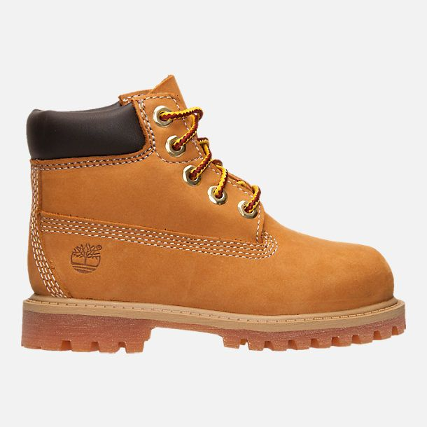 71af14bdf8fa Right view of Kids  Toddler Timberland 6 Inch Classic Boots in Wheat