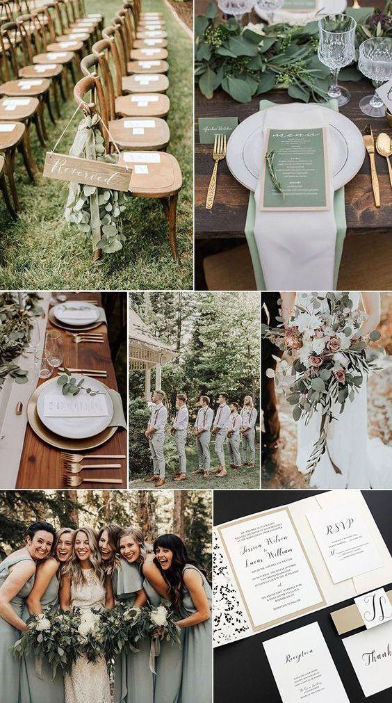 Elegant Neutral Wedding Invitations Laser Cut Wedd