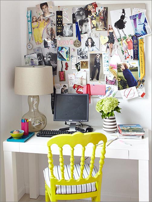 Key Interiors by Shinay Teen Girls Room Tours Bryanna desk