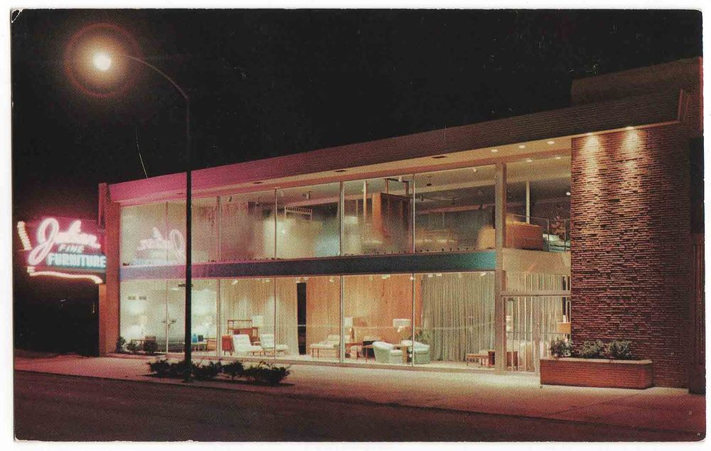 Julian Furniture Store, West 95th Street, Chicago, Illinois 1950u0027s