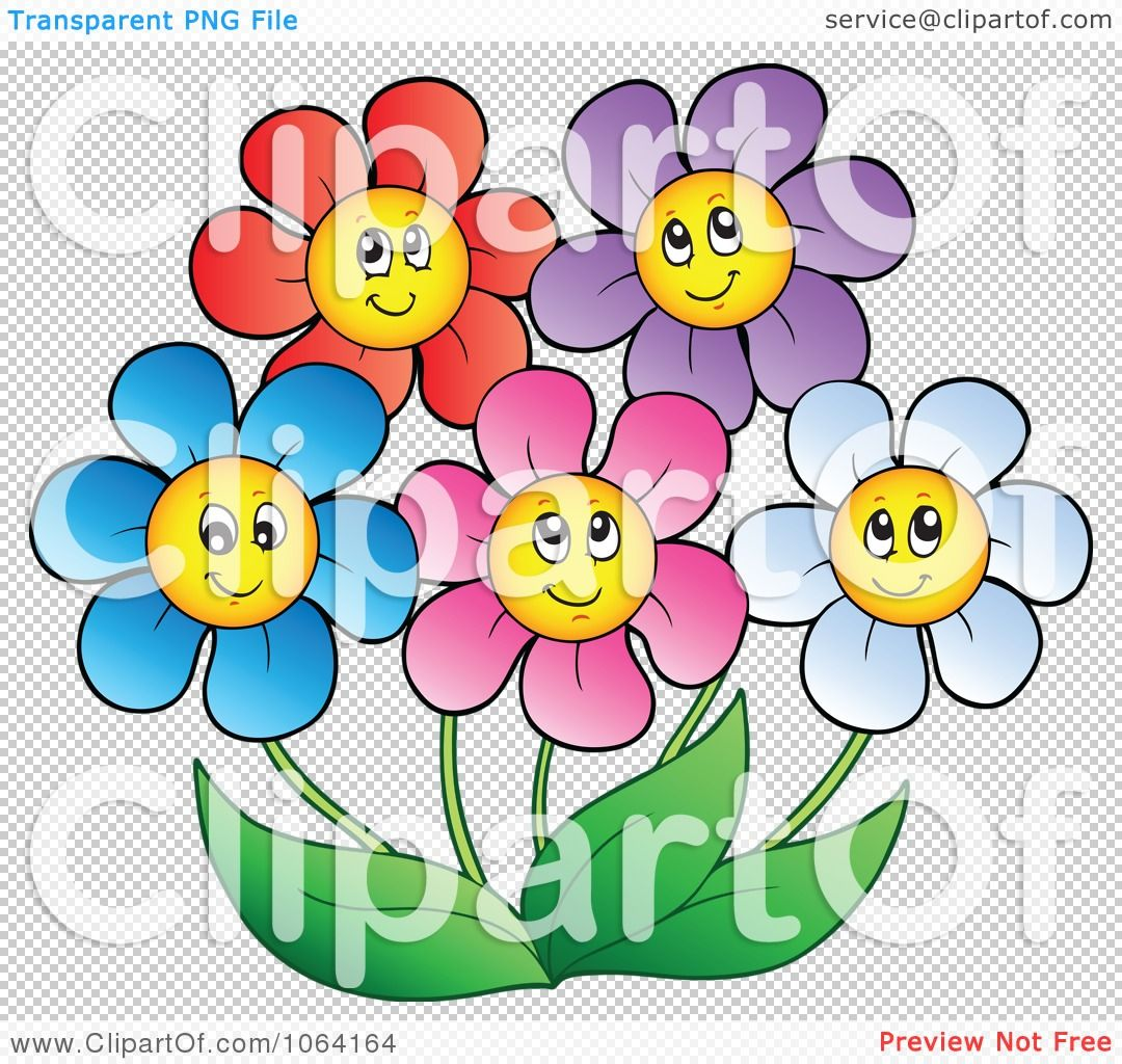 Clipart happy colorful daisy flowers 2 royalty free vector clipart happy colorful daisy flowers 2 royalty free vector illustration by visekart izmirmasajfo