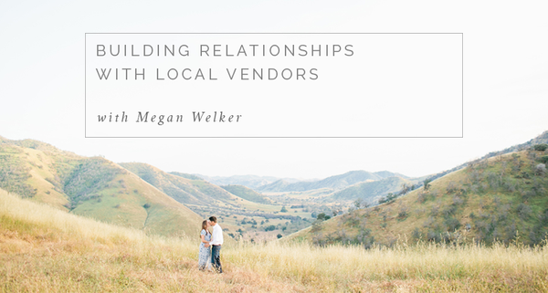 Megan Welker shares her tips on how to build long lasting relationships with local vendors on the blog.