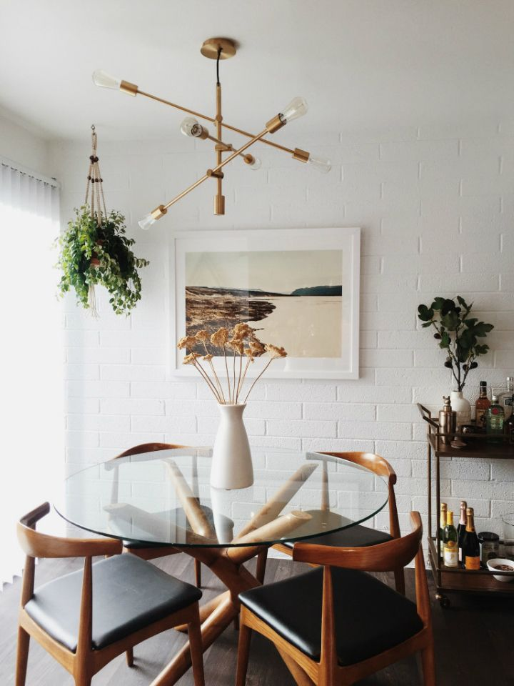 A Bohemian Mid Century Home Like No Other Mid Century Modern Dining Room Mid Century Dining Room Dining Room