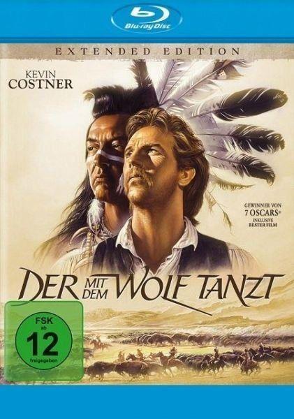 Blu-ray »Der mit dem Wolf tanzt Extended Edition« #bluray