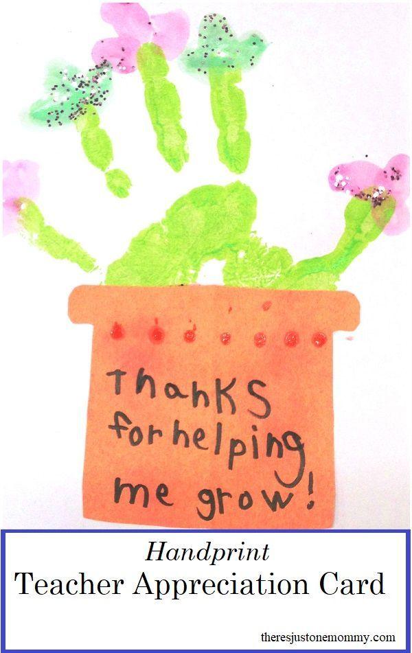 homemade teacher appreciation cards  teacher appreciation