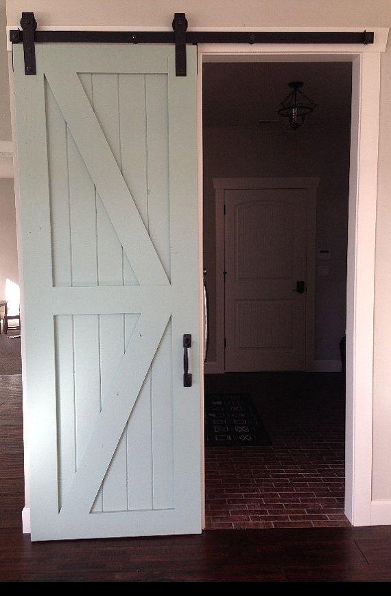 Sliding Barn Door Clever Ideas Pinterest Doors Interior Barn