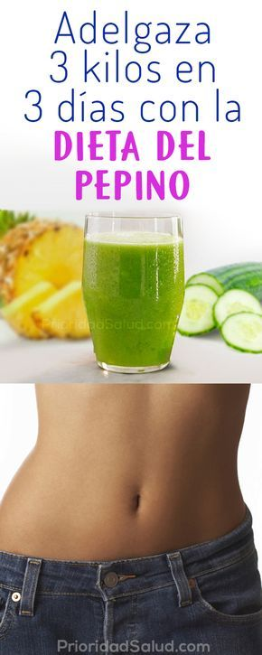 Bajar de peso en 3 dias con jugos saludables