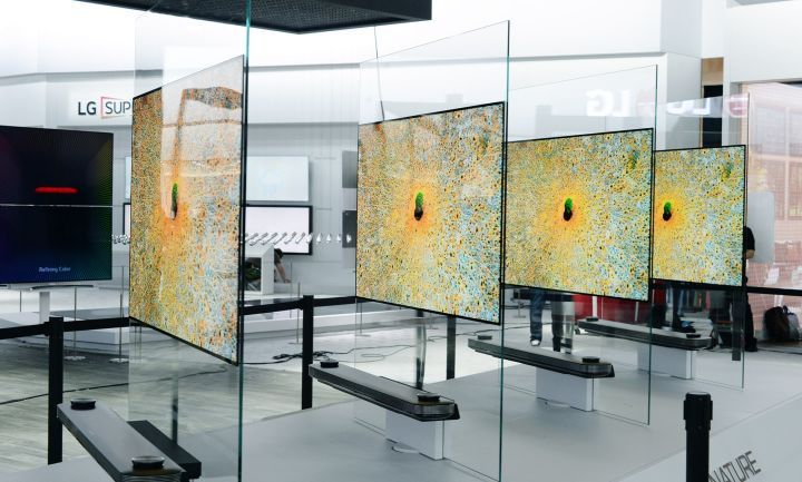 CES 2017 LG's New TV Is Less Than 3mm Thick Home