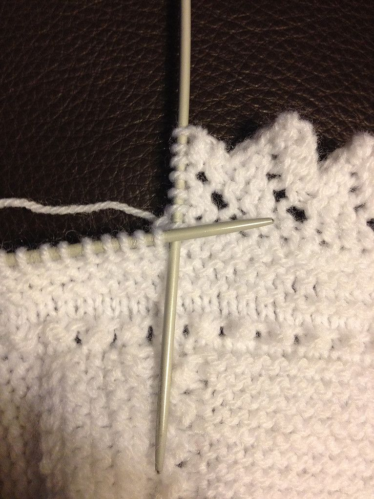 puntillas dos agujas | tejidos varios | Pinterest | Knitting ...