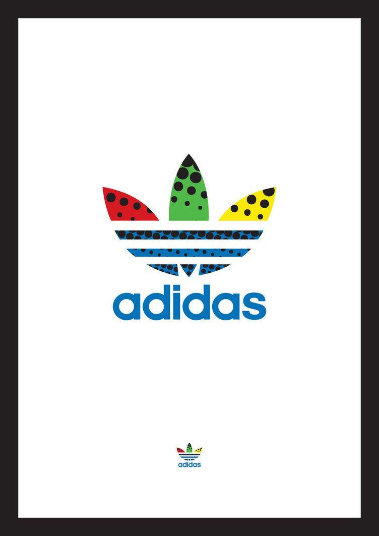 Adidas Pop Art Logo By Kralmelkor Adidas In 2019 Art