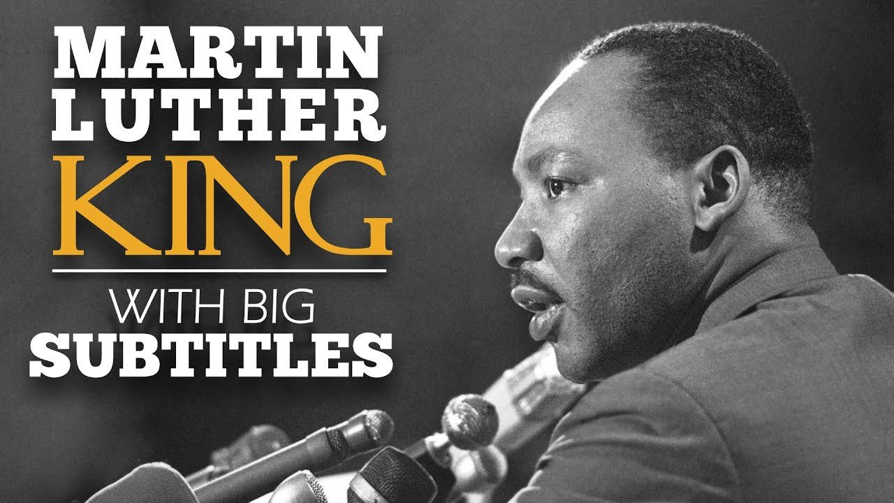 English Speech Martin Luther King I Have A Dream Subtitle Transcript Of Dr. Text Full To The By Junior Analysi