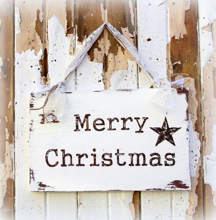 Rustic Christmas Sign