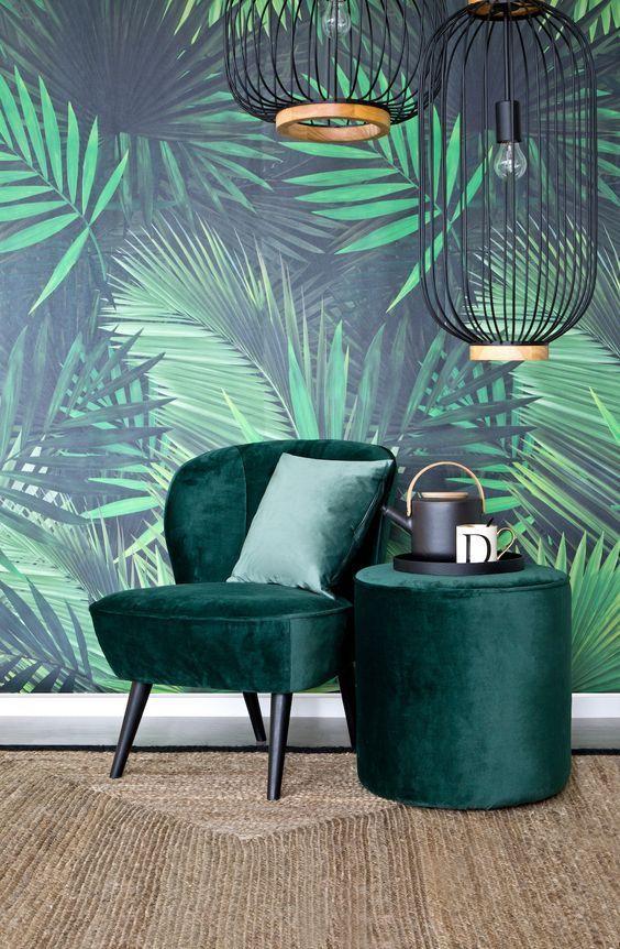 Ran an die Wand! Das saftige Grün erinnert uns an Avocados, Macarons - wohnzimmer einrichten grun