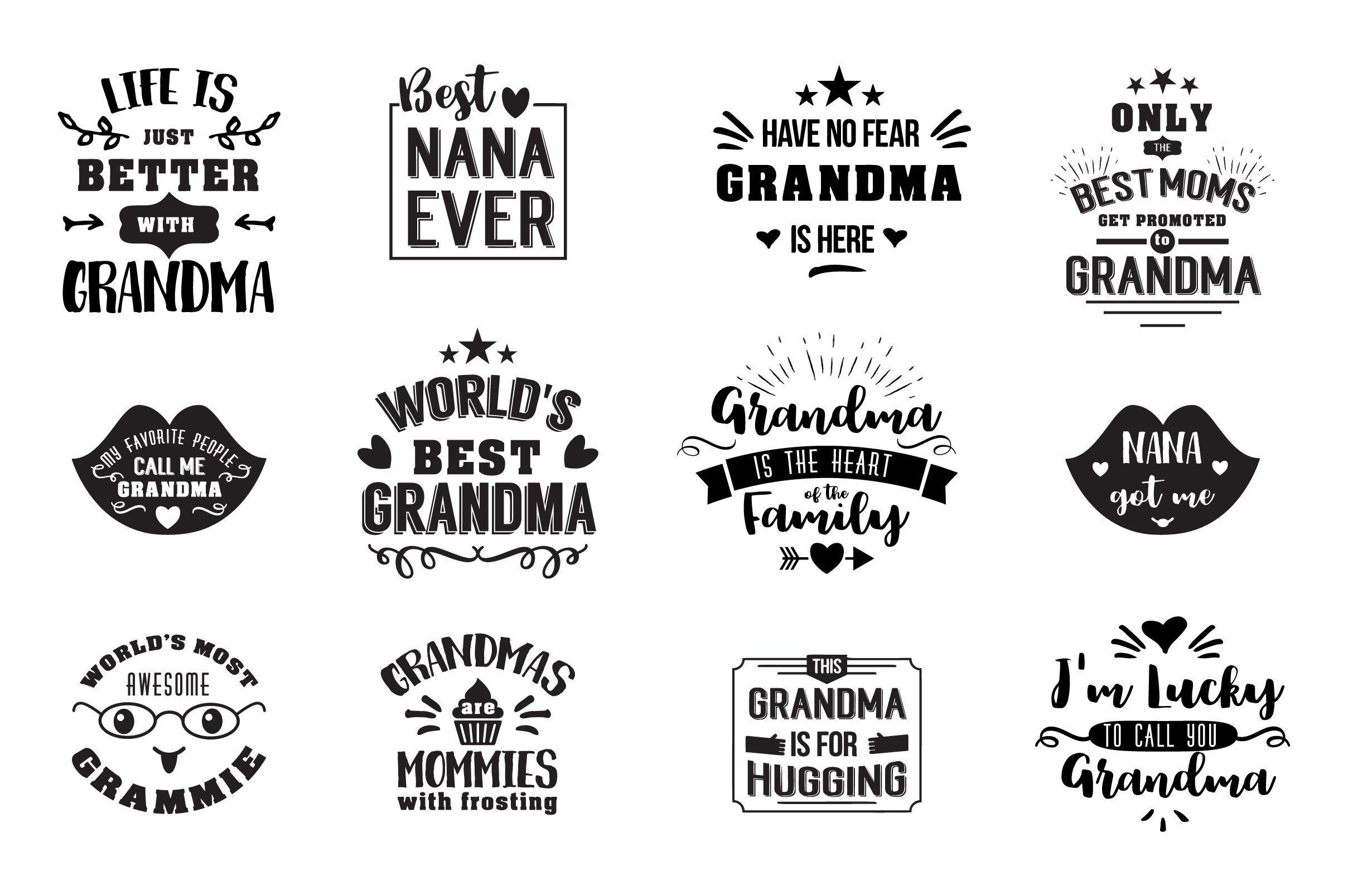 Gifts for Grandma Grandma gifts, Grandparents day