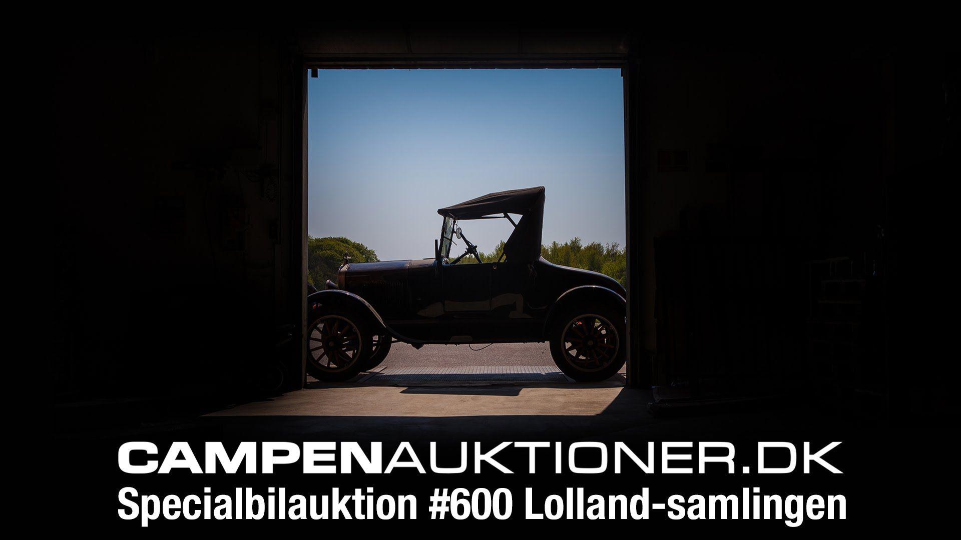 Campen Auktioner A/S - Specialbilauktion #600, Lollands-samlingen