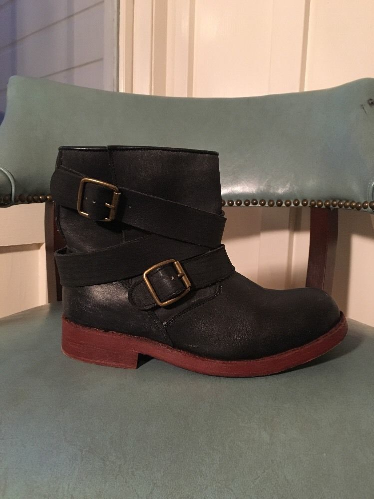 92259ec32e7 Jeffery Campbell  Argus  Black Leather Ankle Boot Sz 8 Nordstrom   JeffreyCampbell  AnkleBoots  Casual