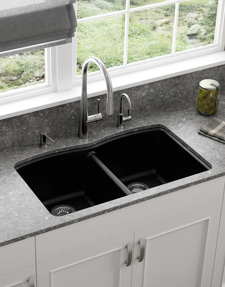 Made From Quality Materials You Can Trust Franke Granite Sinks Rock Kitchendesign Interiordesign Granitekitchen