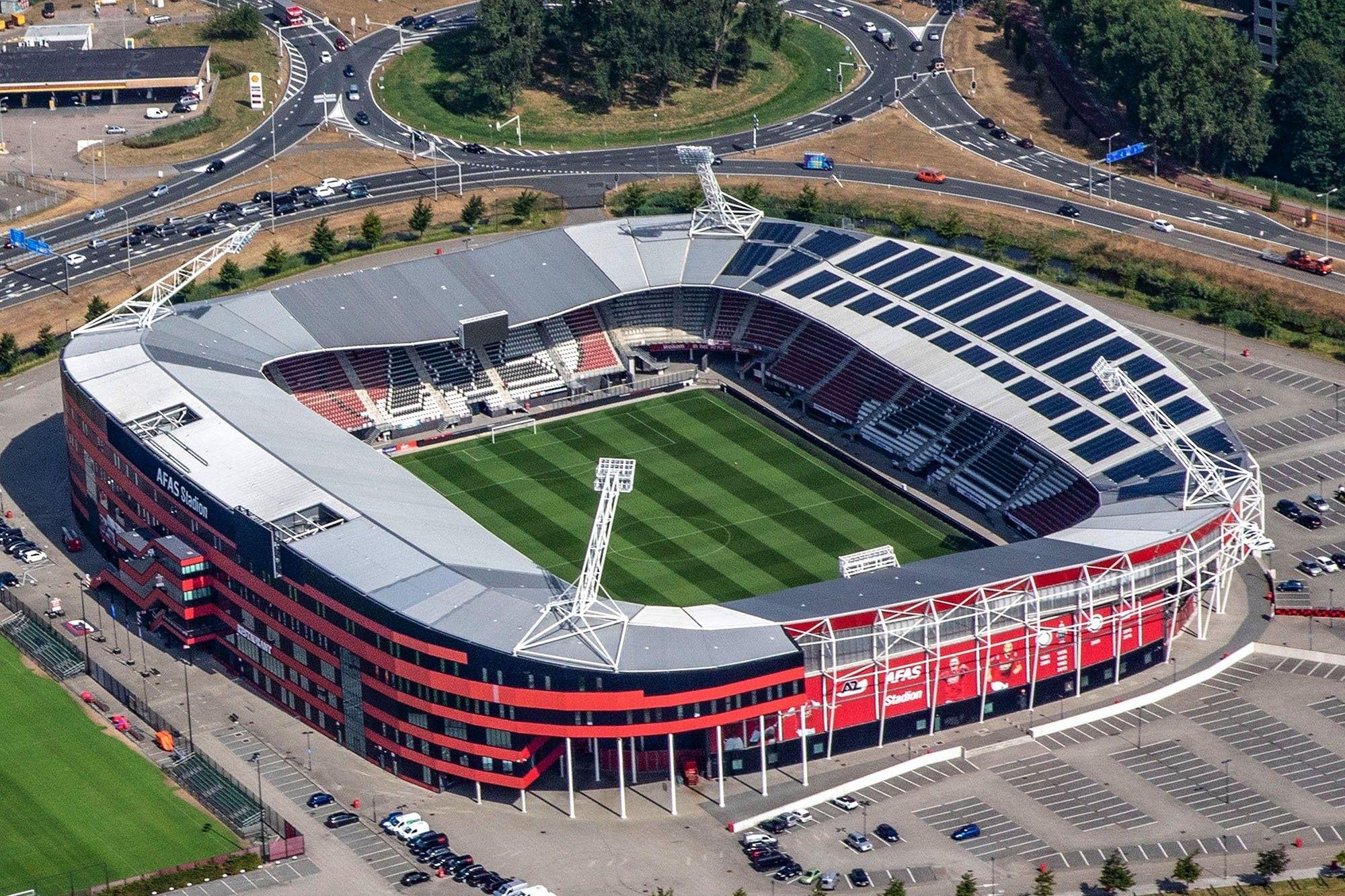 Az Afas Stadion Arsitektur