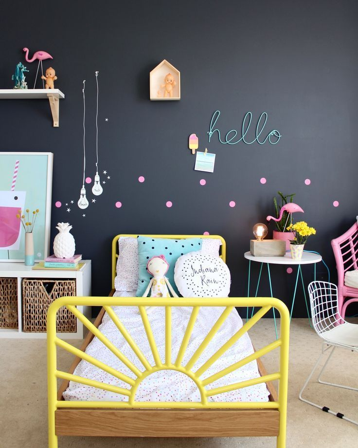 Beautiful girls bedroom Fun ideas for styling
