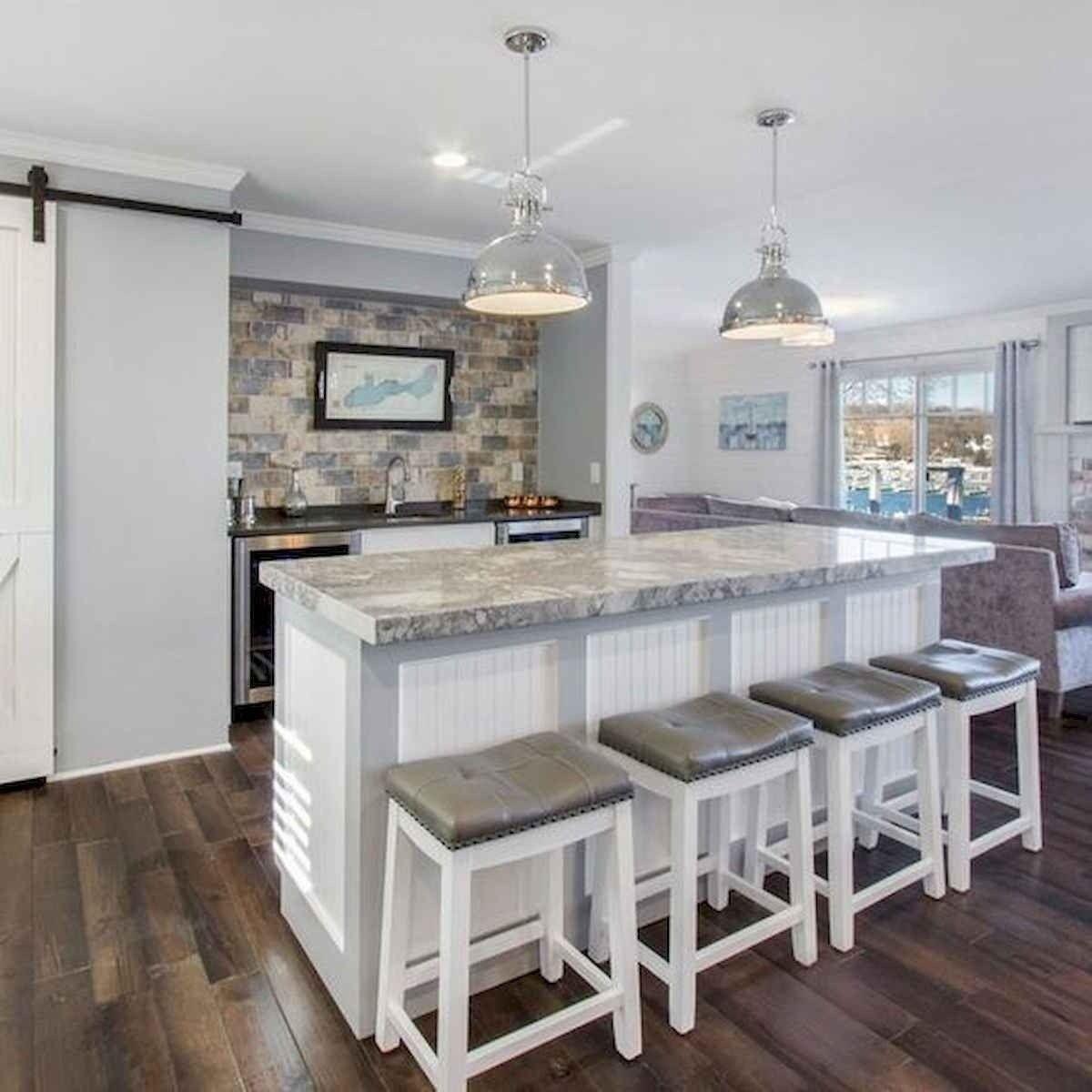 50 Best Modern Farmhouse Kitchen Island Decor Ideas