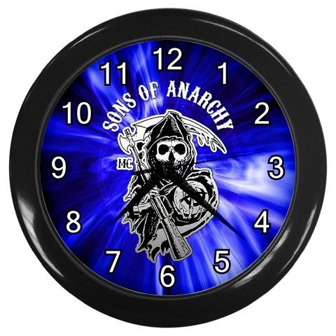"Sons Of Anarchy [10"" Wall Clock Black Frame]"